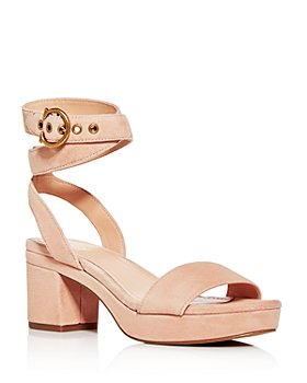 COACH - Women's Serena Strappy Platform Block-Heel Sandals