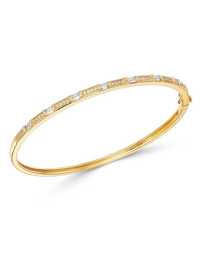 Bloomingdale's - Diamond Bangle Bracelet in 14K Yellow Gold, 0.50 ct. t.w. - 100% Exclusive