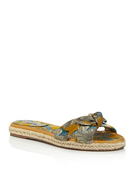 Tabitha Simmons - Women's Heli Knotted Slide Sandals