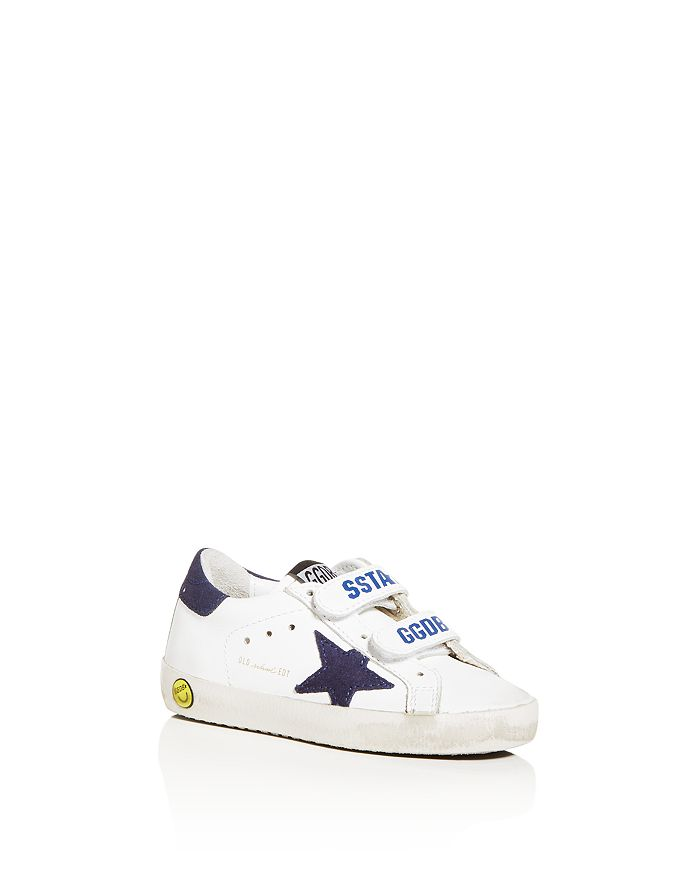 Golden Goose Deluxe Brand - Unisex Old School Low-Top Sneakers - Baby, Walker, Toddler