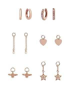 Olivia Burton - House of Huggies Hoop Earrings Gift Set in Rose Gold-Plated Sterling Silver
