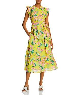 Bella Printed Maxi Dress