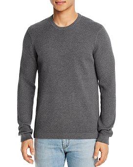 Theory - Udeval Cotton Textured Crewneck Sweater