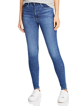 Levi's - Mile High Skinny Jeans in Tempo Super Hot