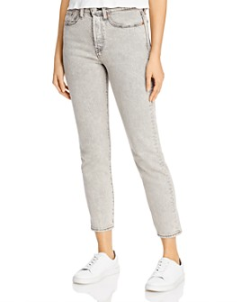 Levi's - Wedgie Icon Slim Ankle Jeans in Stone Broke