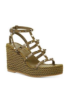 Valentino Garavani - Women's Espadrille Wedge Platform Sandals