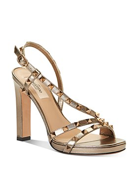 Valentino Garavani - Women's Embellished Strappy High-Heel Sandals