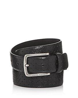 BOSS Hugo Boss - Men's Jor Woven-Print Leather Belt