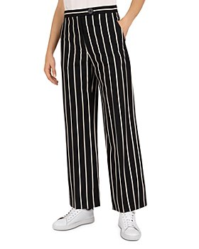 Gerard Darel - Milla Striped Flared-Leg Pants