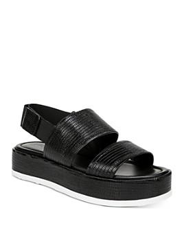 Via Spiga - Women's Gabourey 2 Slingback Platform Sandals