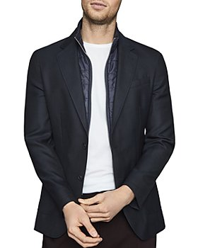 REISS - Oliver Slim-Fit Jacket With Detachable Insert