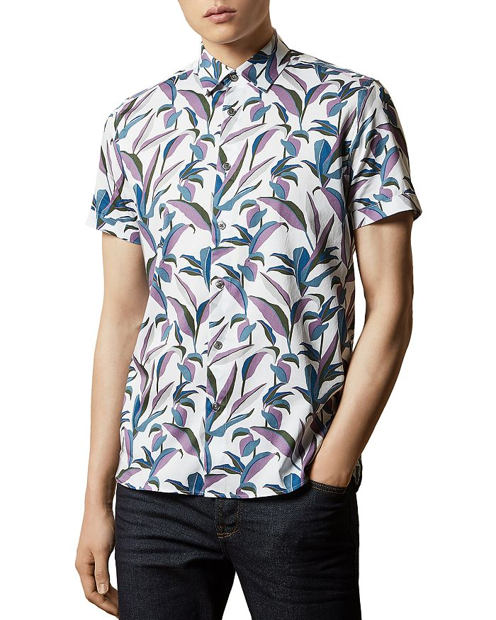 Ted Baker - Leaf Print Shirt