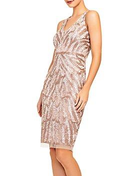 Aidan Mattox - Beaded Cocktail Dress
