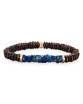 Tateossian - Legno Wood & Lapis Lazuli Beaded Bracelet