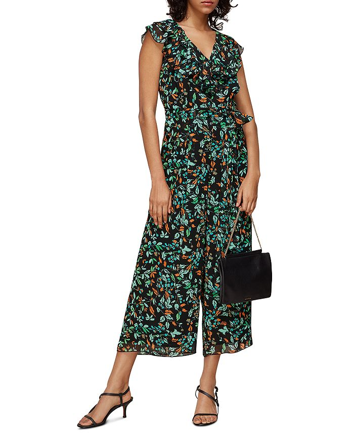 Whistles - Forest Floral Print Jumpsuit