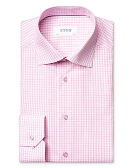 Eton - Check Slim Fit Dress Shirt