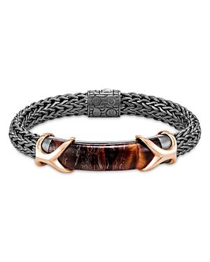 John Hardy Sterling Silver & Bronze Asli Classic Chain Quartz Bracelet-Jewelry & Accessories