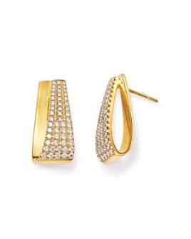Bloomingdale's - Diamond Pavé Drop Earrings in 14K Gold, 0.88 ct. t.w. - 100% Exclusive