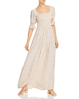 Notes du Nord - Olivia Smocked Maxi Dress