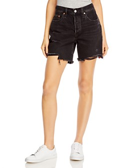 Levi's - 501 Cutoff Ripped Shorts