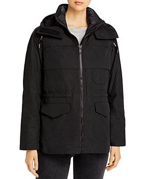 Yves Salomon - 2-in-1 Hooded Jacket