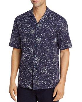 Z Zegna - Floral Short-Sleeve Camp Shirt