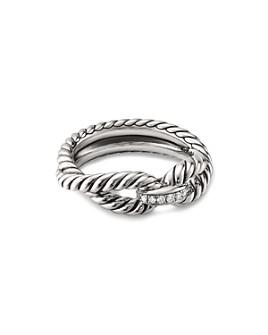 David Yurman - Cable Loop Ring with Diamonds