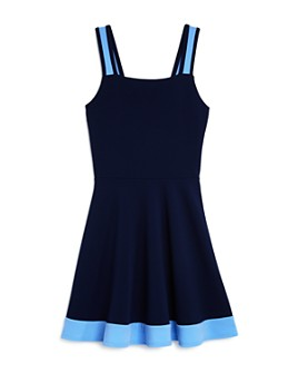 AQUA - Girls' Fit-And-Flare Sleeveless Dress, Big Kid - 100% Exclusive