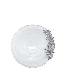 Mariposa - Alabaster White Seaside Platter