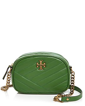 Tory Burch - Kira Chevron Small Quilted Leather Camera Crossbody