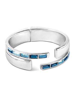 Uno de 50 Nightbird Swarovski Crystal Cuff Bracelet
