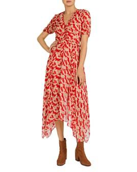 The Kooples - Volute Maxi Shirt Dress