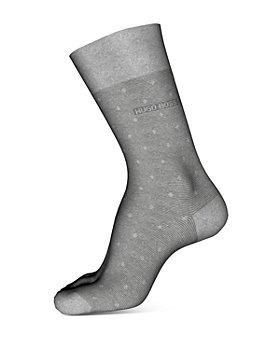BOSS - Peter Cotton-Blend Dot Crew Socks