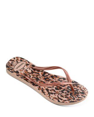 animal slim flip flops