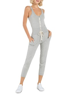 n:philanthropy - Griffith Zippered Drawstring-Waist Jumpsuit