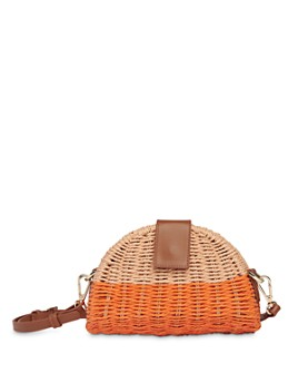 Whistles - Leo Mini Woven Crossbody Bag