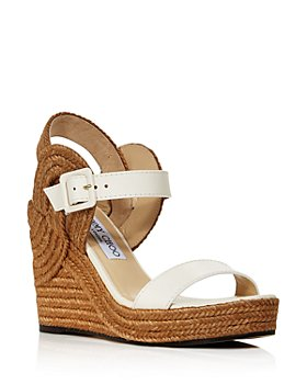 Jimmy Choo - Women's Delphi 100 Espadrille Wedge Sandals