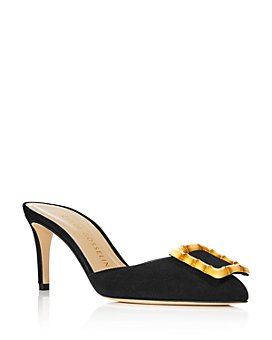 Chloe Gosselin - Women's Kasia High-Heel Mule Pumps