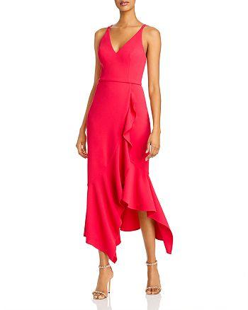 AQUA - Ruffled Strappy Dress - 100% Exclusive