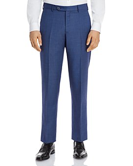 Zanella - Parker Sharkskin Regular Fit Dress Pants