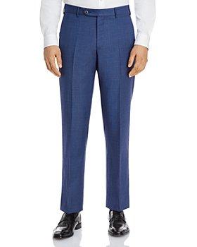Zanella - Parker Sharkskin Regular Fit Dress Pants
