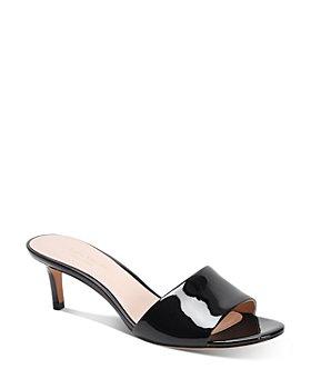 kate spade new york - Women's Savvi Slip On Mid-Heel Sandals