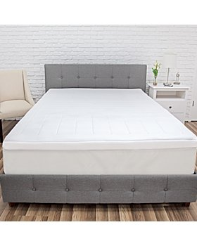 SensorPEDIC - Euro Majestic 3-Zone Quilted Memory Foam 3-Inch Bed Toppers