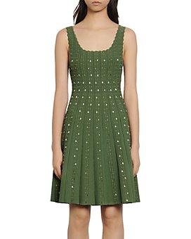 Sandro - Avah Beaded Knit Dress