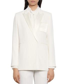 Sandro - Jensy Tuxedo Blazer Jacket