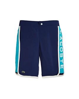 Lacoste - Boys' Color-Blocked Logo Swimsuit - Little Kid, Big Kid