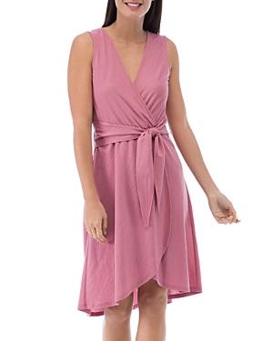 Rowan Faux-Wrap Dress