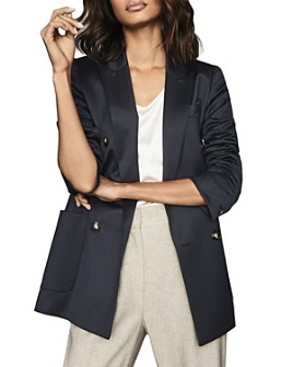 REISS - Astrid Double-Breasted Blazer