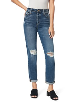 Joe's Jeans - The Niki Ripped Boyfriend Jeans in Banjo