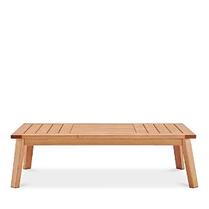 Modway Sedona Outdoor Patio Eucalyptus Wood Coffee Table